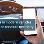 EMI shielding for modern vehicles
