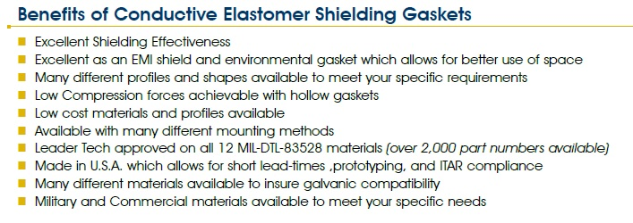 Benefits of Conductive Elastomer Shielding Gaskets-2