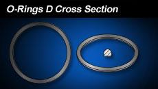 O Rings D Cross