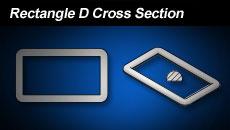 Rectangle D Cross