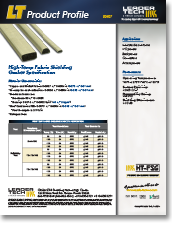 High Temp Fabric Shielding Gaskets