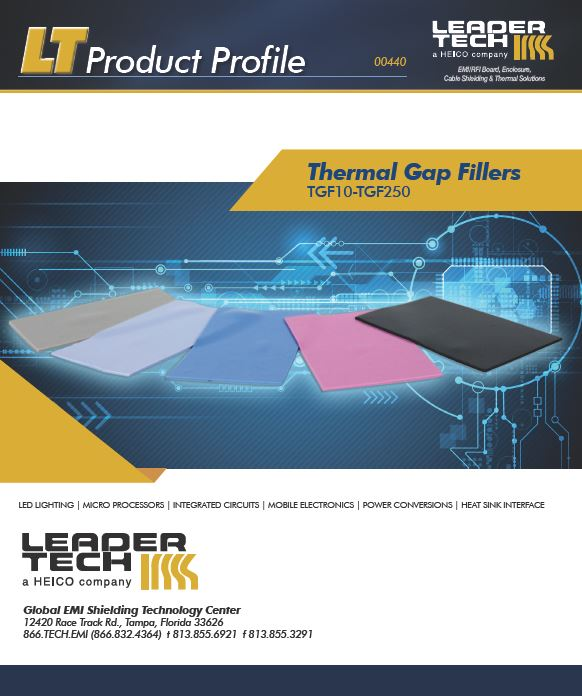 Thermal Gap Filler Product Profile