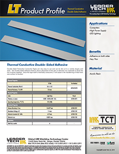 Thermal Tape Product Profile