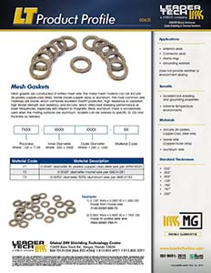Mesh Gasket Product Profile