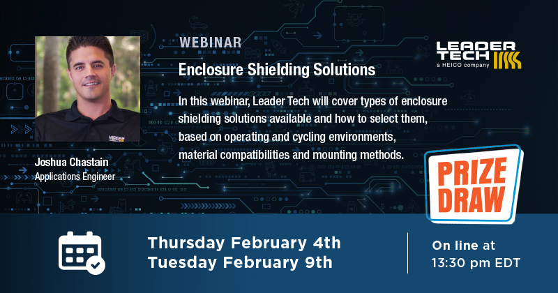 Free Enclosure Shielding Solutions Webinar - February 4th & 9th